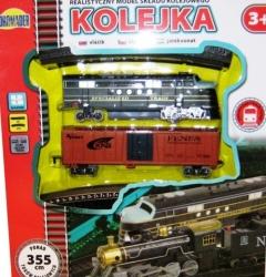 Vláček Kolejka Dromader - koleje 355 cm