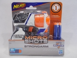 Nerf Micro Shoots Strongarm