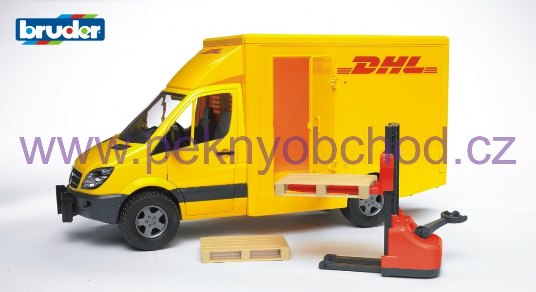 Mercedes Benz Sprinter DHL Bruder 02534