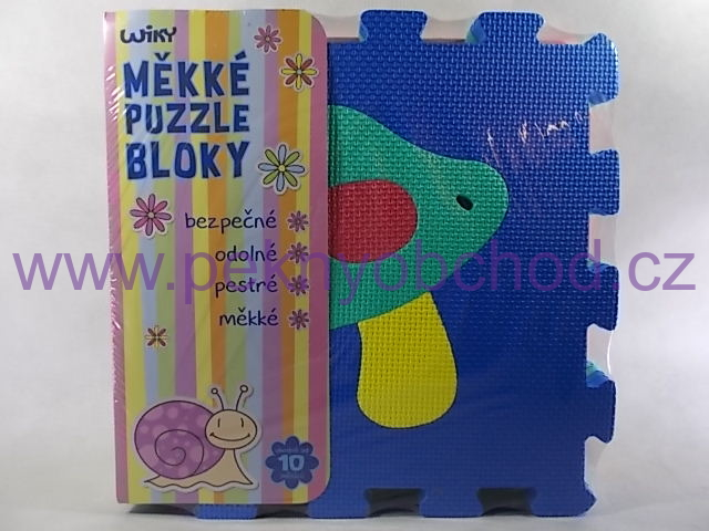 9100692bf Pěnové puzzle 30x30 cm Ovoce