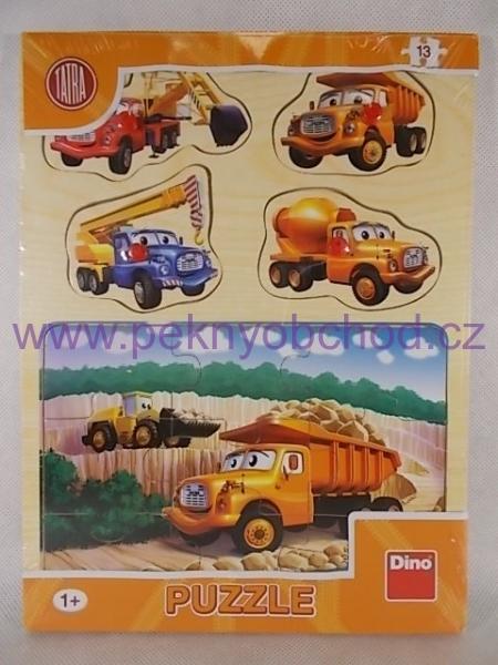 536ed98f9 Vkládačka Tatra dřevěná Dino